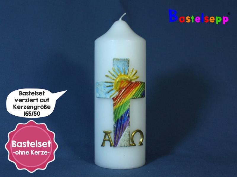 Kerzenbastelset Osterkerze Nr.107 zum selber machen ...