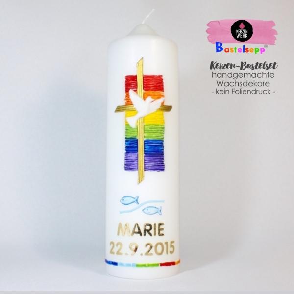 Bastelsets I Taufe - Kerzen für jeden Anlass selber machen ...